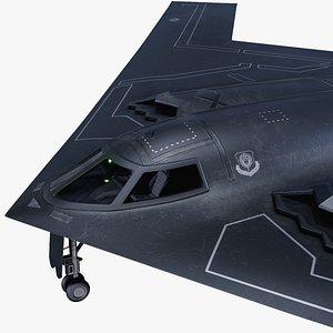 spirit heavy bomber rigged model