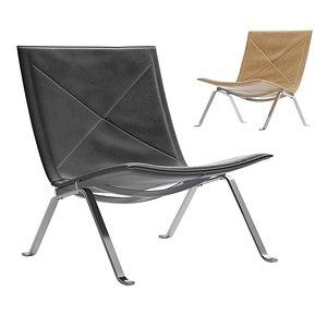 fritz hansen chair 3D model