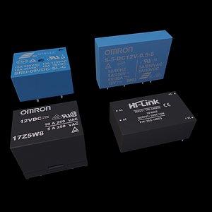 3D relays model