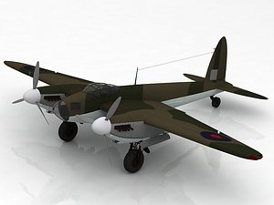 de Havilland DH.98 Mosquito FB MK VI 3D model