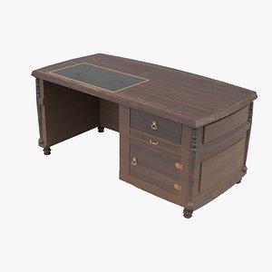 3D home office desk model