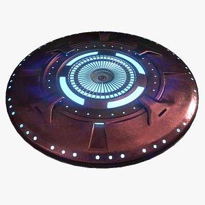 UFO spaceship 3D model