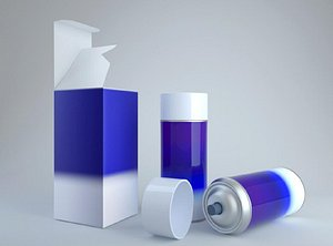 Insecticide spray 3D