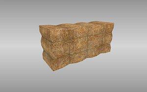 haybale blender 3D model