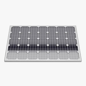 Solar Panel Plate 1 3D