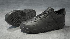 3D nike air force 1