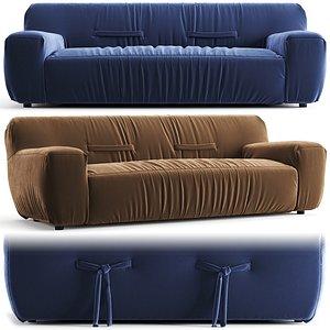 3D Natuzzi Argo Sofa model