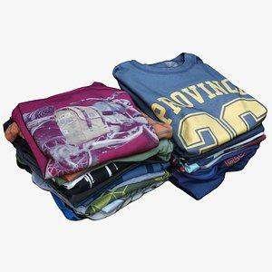 3D Clothes 241 Pile