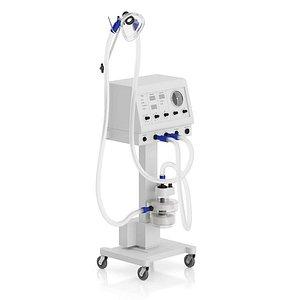 3D model Respirator