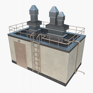 Rooftop Gate 3D model