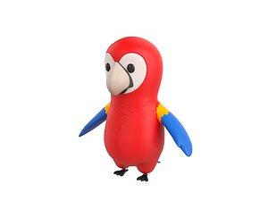 parrot character 3D
