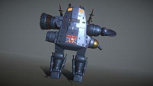 3D robot battle