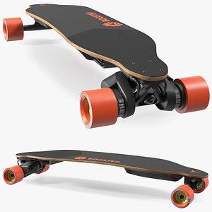 Boosted 2nd Gen Dual Electric Skateboard model