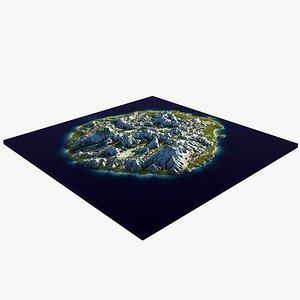 Scene Island 1 3D model