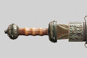 aaa sword 3D model