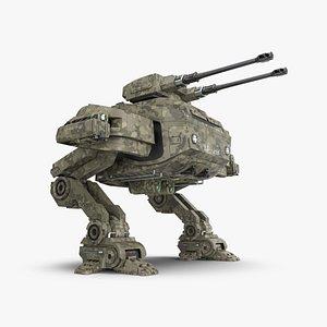 3D artillery mech - lp28