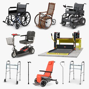 Mobility Aids Collection 5 model