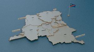 democratic republic congo 3D