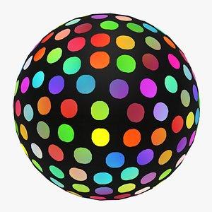 Abstract Disco Ball model