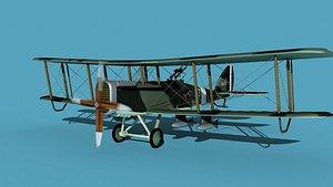 3D Airco DH-4 V05 Bomber USASC