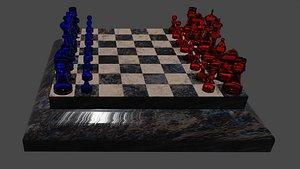 3D ajedrez