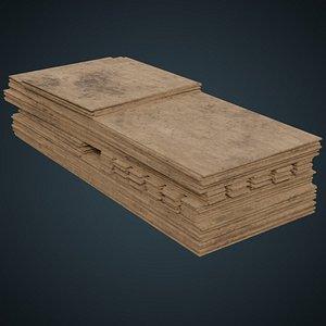 wooden sheets 1b model