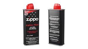 3D Zippo Lighter Fluid