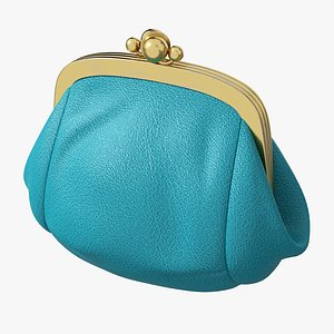 Female coin purse model