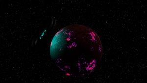 alien scene invasion 3D model