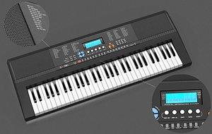 3D portable keyboard key model
