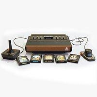Atari 2600 Video Game System