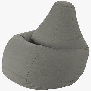 Bean Bag Chair V1 3D model