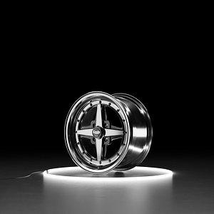 WORK EQUIP 01 Car wheel model