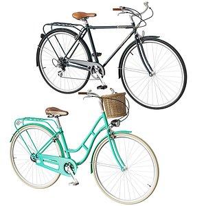 3D bike vintage model