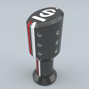 SPARCO Settanta Shift Knob Black model