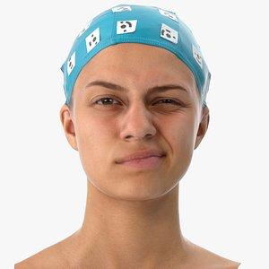 3D penelope human head wink