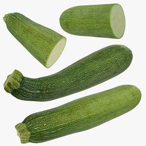 zucchini set 3D