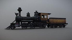 3D model locomotive Train