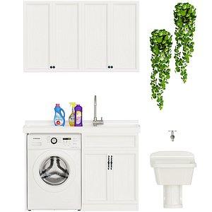 Laundry Room model