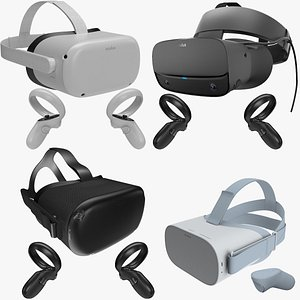 oculus vr headset s 3D model