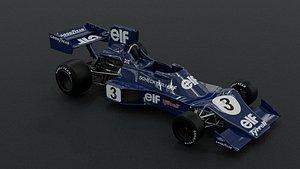 tyrrell 007 1974 3D