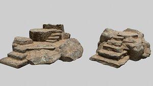 3D model Altar Set