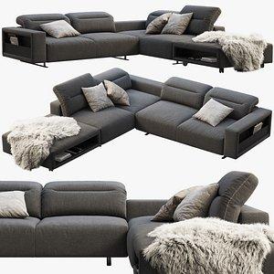 boconcept hampton sofa 3D model