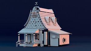 house rbd 3D model