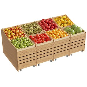 3D Store Fruits