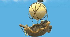 balloon boat model