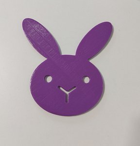 bunny stand 3D