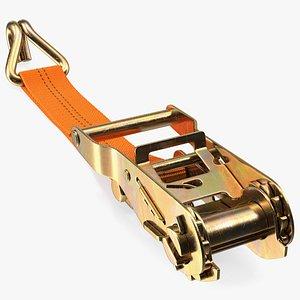 Ratchet Strap Tie Down 3D