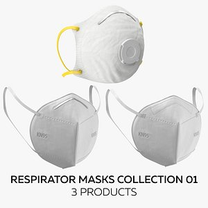 Respirator Masks Collection 01 model
