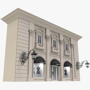 3D Storefront X1